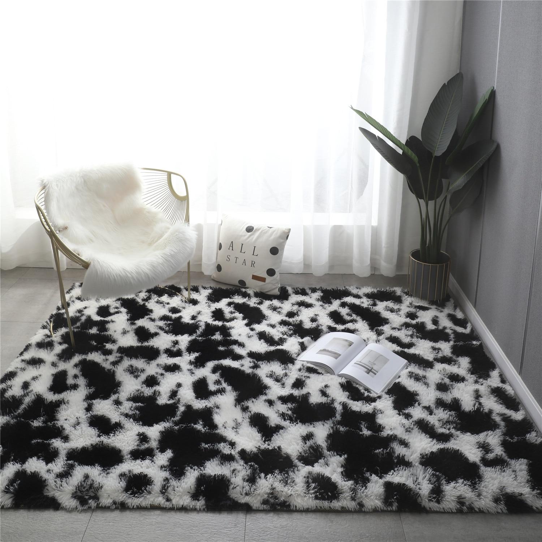 Living room Carpet Soft Nursery Rugs Shaggy Carpet for Kids Room Children Home Decoration Shag Floor Rugs with Anti-Slip Bottom