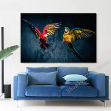 diamond painting Modern art, parrot 5d diy handmade embroidery kit full squareround drill home decorTT3659(China)