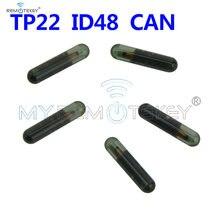 Remtekey 5 шт чип транспондера id48 can tp22 стеклянный подходит