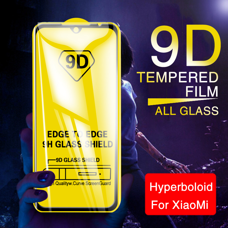 9D Full Cover Tempered Glass For <font><b>Xiaomi</b></font> Redmi Note 5 5A 7 Pro <font><b>Screen</b></font> <font><b>Protector</b></font> For <font><b>Xiaomi</b></font> A1 A2 Lite 5x 6x 8 9 Protective Glass image