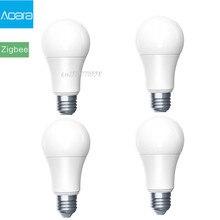 Умсветодиодный Светодиодная лампа Aqara Zigbee, 9 Вт, E27, 2700K 6500K, белый цвет