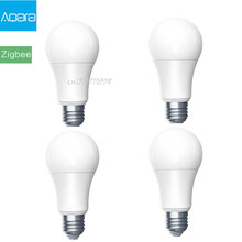 Aqara Zigbee Smart Led lampe Zigbee Version 9W E27 2700K 6500K Weiß Farbe Smart Remote LED lampe Licht mit Home Kit