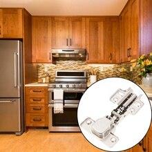 10Pcs Damper Buffer Cabinet Hinge Close Hydraulic Hinge Furniture Accessory