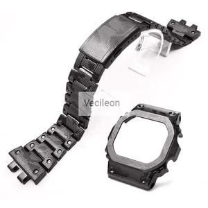 Image 4 - Yüksek kaliteli GMW B5000 titanyum alaşımlı saat kayışı ve çerçeve GMW B5000 Metal kayış bilezik kapak araçları ile 3 renk