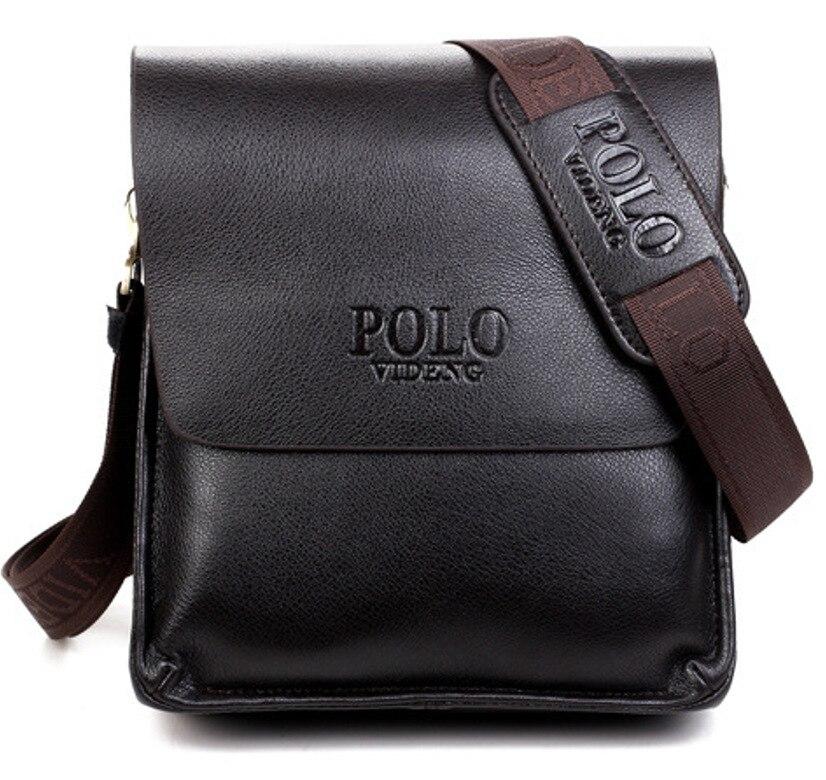 New Style MEN'S Single-shoulder Bag Men's Bag Casual Shoulder Polo Verticle Business Document Men's Bag