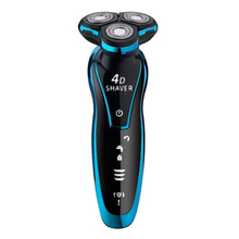 Outdoor tool Men Washable Rechargeable USB Electric Shaver Shaving Beard Nose Hair Trimmer Wash Razor Rechargeable hot lcd display electric shaver 4 blade rechargeable mens shaving razor quick charge barbeador gift nose ear hair trimmer s34