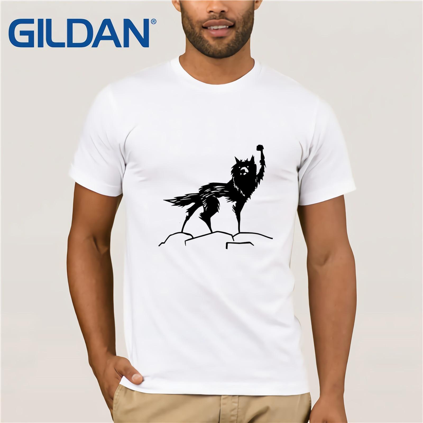 100% cotton O-neck printed T-shirt Fantastic Mr  fox T-Shirt for men Clothes Popular Crewneck Cotton Tees