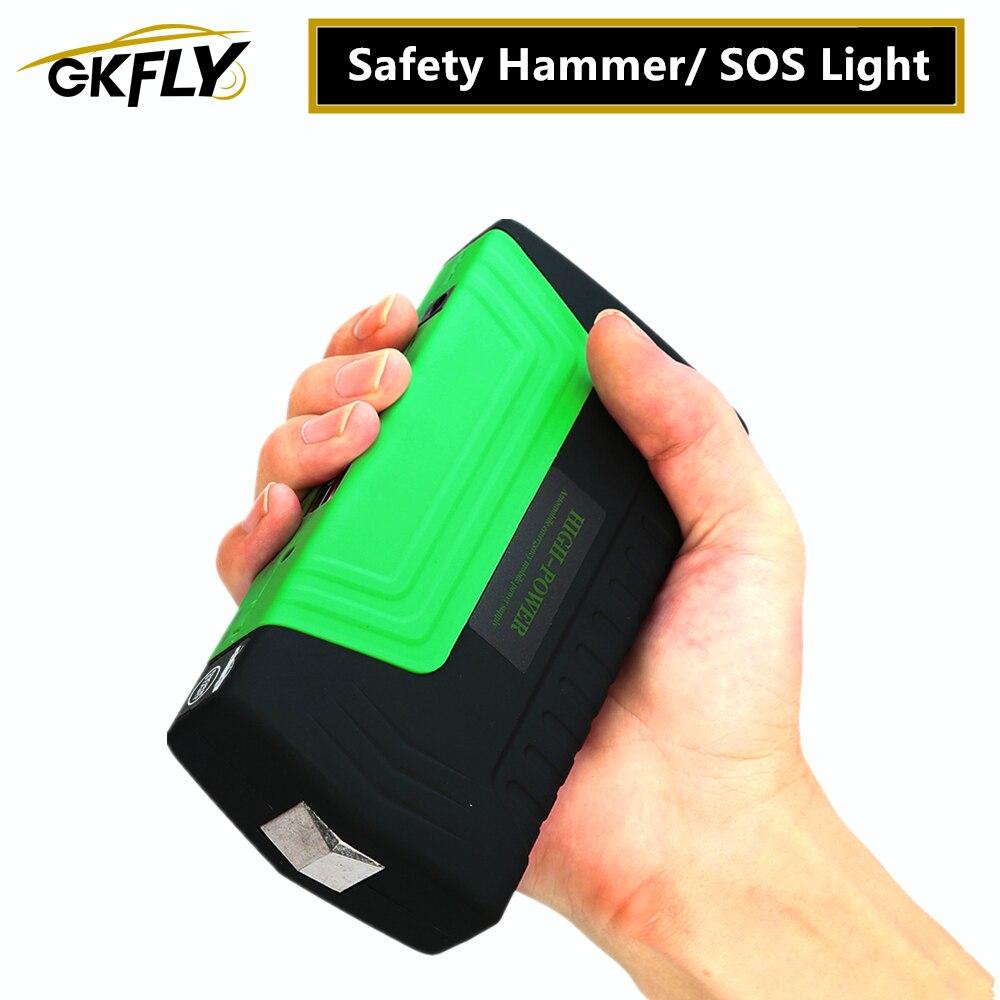 GKFLY Emergency Starting Device Car Jump 12V Starter Pack Portable Car Starter Power Bank Charger for Car Battery Booster|charger for|charger for car|charger for car battery - title=