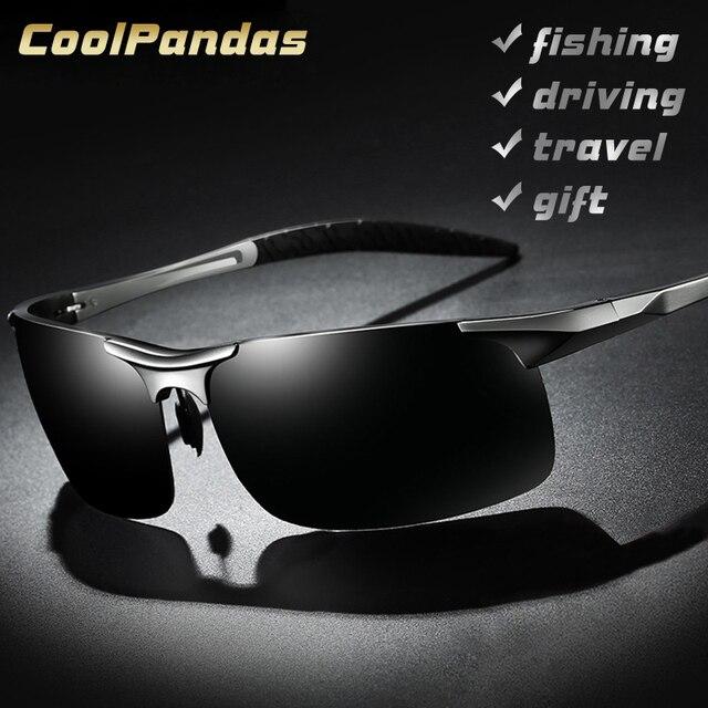 Aluminum Magnesium Men Polarized Aviation Sun Glasses 1