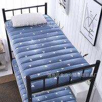 المصنعين مباشرة بيع شخص واحد للطي تاتامي فراش تنفس سميكة سرير بطابقين الطلاب عنبر فراش تخصيص بالجملة|الحشايا|الأثاث -