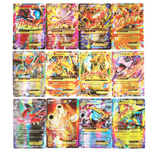 100pcs/set Pokemon GX MEGA EX ME TAKARA TOMY Battle Toys Hobbies Hobby Collectibles Game Collection Anime Cards for Children