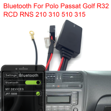 Aux Bluetooth Adapter Passat Jack Music-Cable Hands-Free Car MP3 for RCD RNS 210/310/510/315