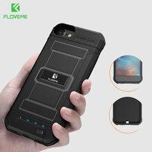 Power-Bank Battery-Charger-Case iPhone FLOVEME 8-Plus case Portable 3000/4200mah