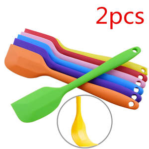 Brush Scraper Butter-Mixer Kitchenware Cake-Spatula Baking-Tool Silicone 2pcs Mixing