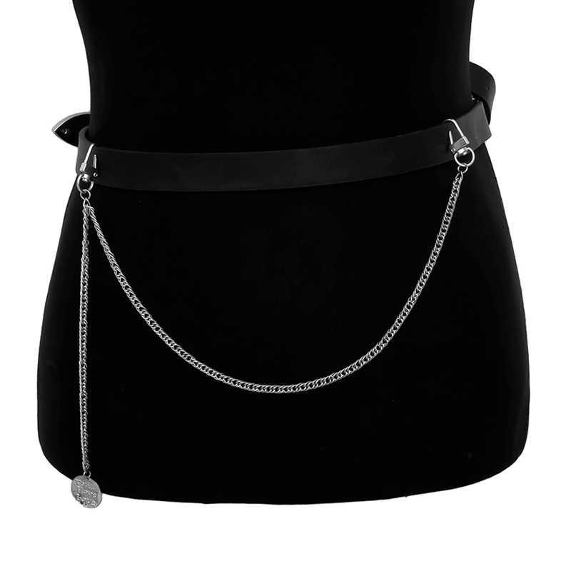 โลหะกางเกงกางเกงกระเป๋าสตางค์เข็มขัด ROCK Punk JEANS พวงกุญแจแหวนเงินคลิปพวงกุญแจ HIPHOP เครื่องประดับอินเทรนด์ใหม่