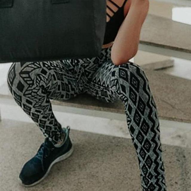 Leopard print gym leggings XS-XL