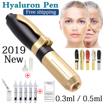 2019 New High Pressure Hyaluronic Acid Pen High density metal For Anti Wrinkle Lifting Lip hyaluron gun atomizer hyaluronic pen