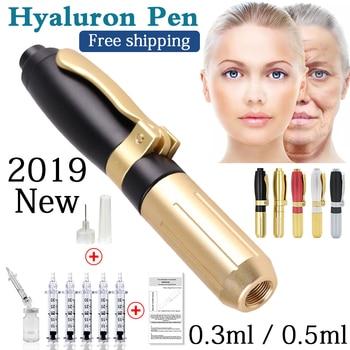 2019 nowy wysokiej ciśnienia kwas hialuronowy długopis wysokiej gęstości metalu do przeciw zmarszczkom podnoszenia wargi hialuronowy pistolet atomizer hialuronowy długopis