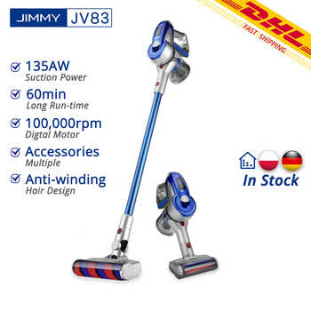 [Free Duty] JIMMY JV83 Vacuum Cleaner JIMMY JV83 Wireless Handheld Cordless Stick Vacuum Cleaner 20kPa - DISCOUNT ITEM  46% OFF All Category