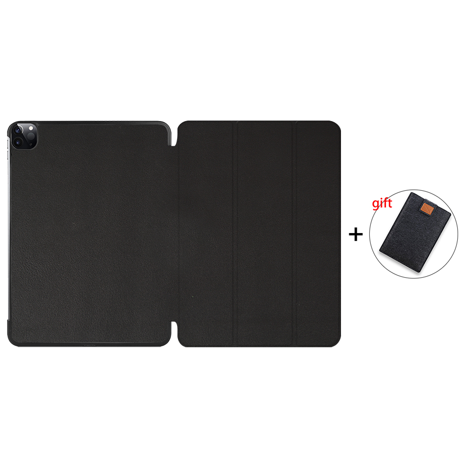 Black Gold MTT 2020 Marble Tablet Case For iPad Pro 11 inch A2228 A2231 PU Leather Magnetic Fold