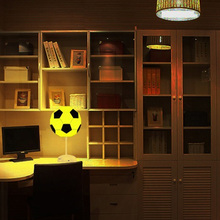 Night Light Football Bedroom Bedside Lamp Diy Lamps Ball Light Usb Changing Colorful Led Night Lights Home Decoration Table Lamp