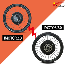 Imotor Electric Bike 24-29inch Front Hub Motor Wheel E Bicycle Conversion Kit MTB 36V 500W Electricity Wheel Lithium Battery