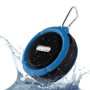 OUTAD C6 Plastic Portable Wireless Speaker With Calls Handsfree and Suction Cup Waterproof Shower Speaker
