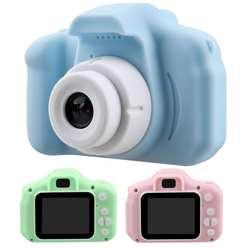 Мини-юбка для девочек Детская видеокамера цифровая фотокамера с 2-дюймовым Экран дисплея для детей подарки на день рождения для игр на