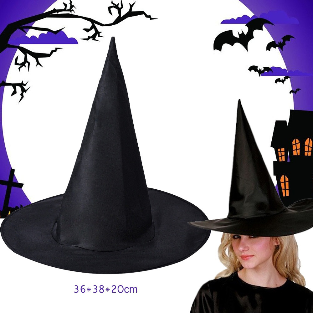 Witch Hat Adult Halloween Costume Fancy Dress