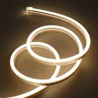 Tira de luces LED de neón de 12V, 2835, 120LED/m, 6x12mm, impermeable, Flexible, decoración del hogar, vacaciones