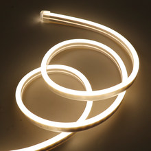 12V Neon Light LED Strip 2835 120LEDs/m 6x12mm Neon Sign Waterproof Flexible Rope Tube Light for Holiday Home Decoration