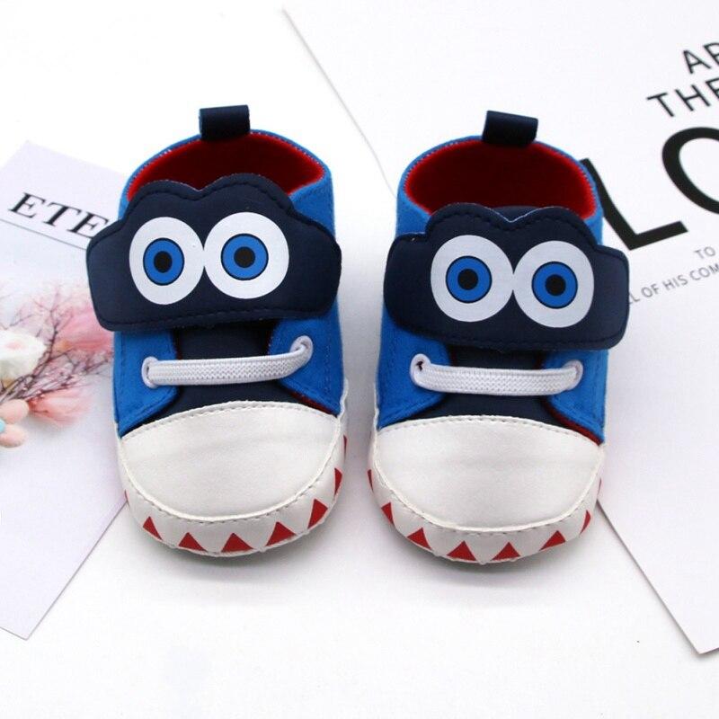 2019 Toddler Newborn Baby Boys Girls Cartoon Crib Shoes Infant Cartoon Soft Sole Non-slip Cute Baby Shoes