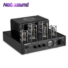 Nobsound AMPLIFICADOR DE POTENCIA DE TUBO híbrido, HiFi, Bluetooth, Subwoofer estéreo, USB/OPT/COAX