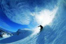 Человек Лыжный Спорт вниз с наклона металлическая жестяная вывеска