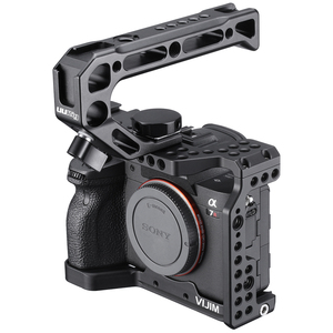 Image 4 - VIJIM CA 02 อลูมิเนียมกล้องสำหรับ Sony A7R4 SONY A7R IV รองเท้าเย็น ARRI ตำแหน่ง 1/4 3/8 ด้าย