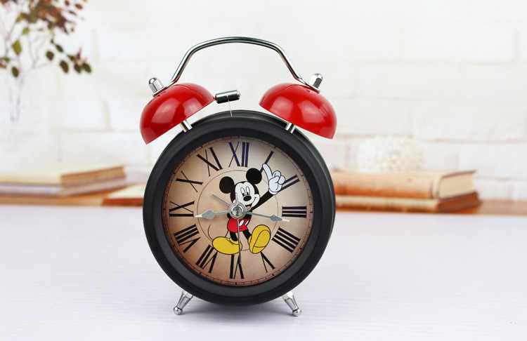Cute Mickey Mouse Alarm Clock