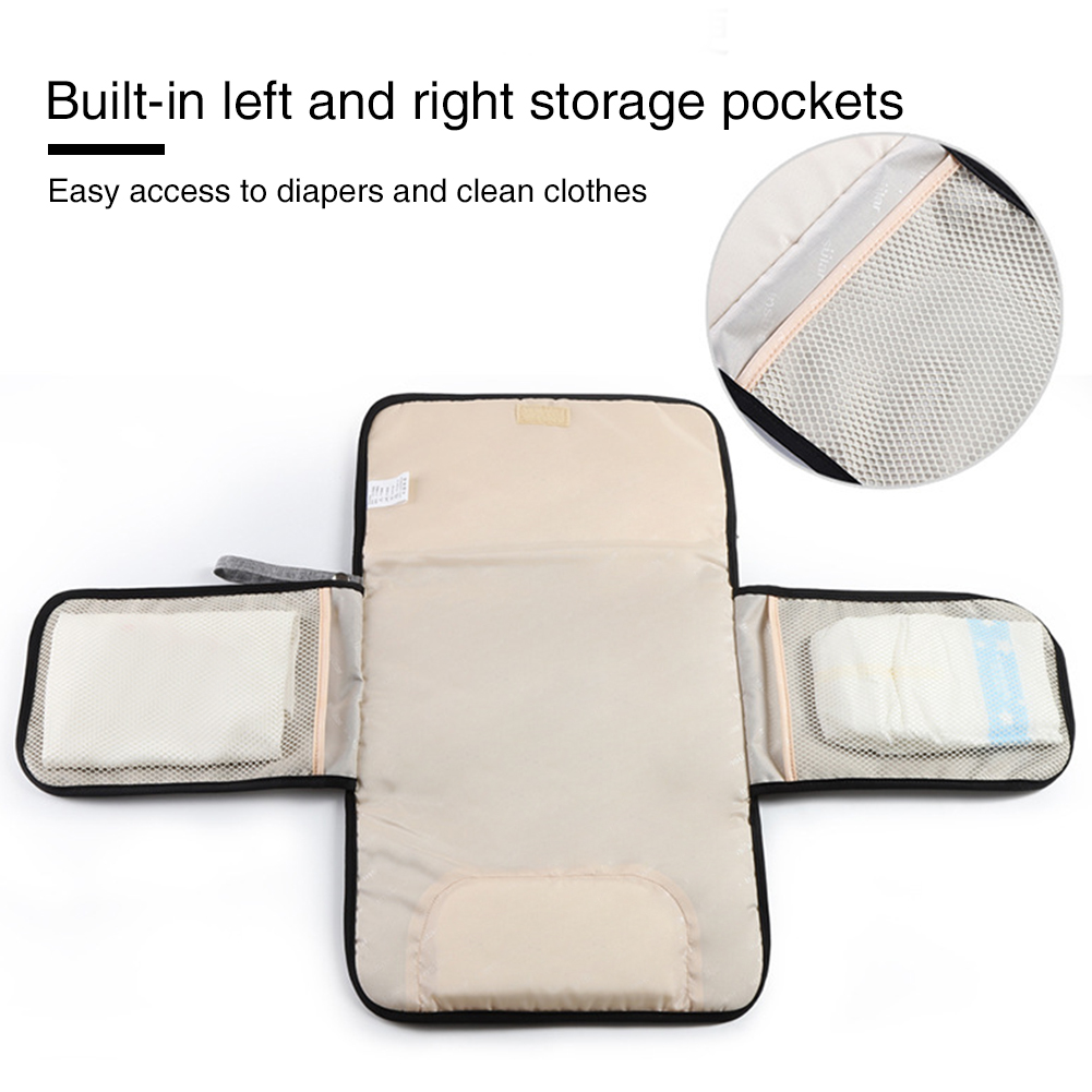 Cushion Portable Reusable Home Diaper Changing Mat Waterproof Polyester Foldable Nappy Pad Washable Baby Body Extender Travel