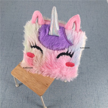 Plush Purse Horse Pouch Key-Chain Fluffy Approx. 11CM Sweet Popular Lovely