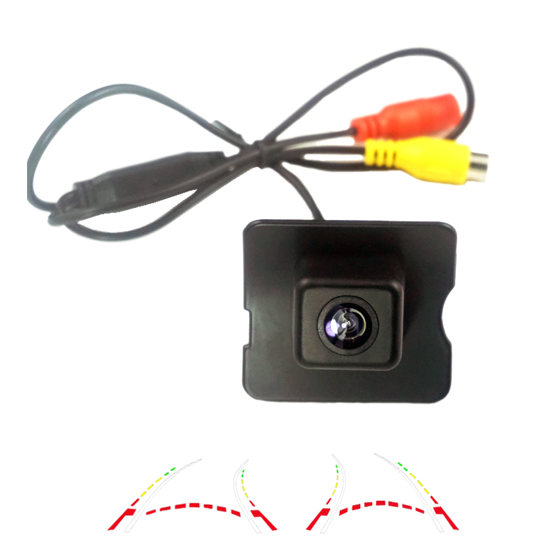 Dynamic Tracks CCd car rear view backup camera for MercedesBenz E M ML GL R Class <font><b>MB</b></font> W164 <font><b>X164</b></font> 350 450 500 W251 R300 R350 R280 image