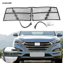 For Hyundai Tucson 2015 2016 2017 2018 Car Insect Screening Mesh Front Grille Insert Net