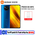 Глобальная версия смартфона Xiaomi POCO X3 NFC 6 Гб 64 Гб/6 ГБ 128 ГБ Восьмиядерный Snapdragon 732G 64-мегапиксельная четырехъядерная камера 6,67