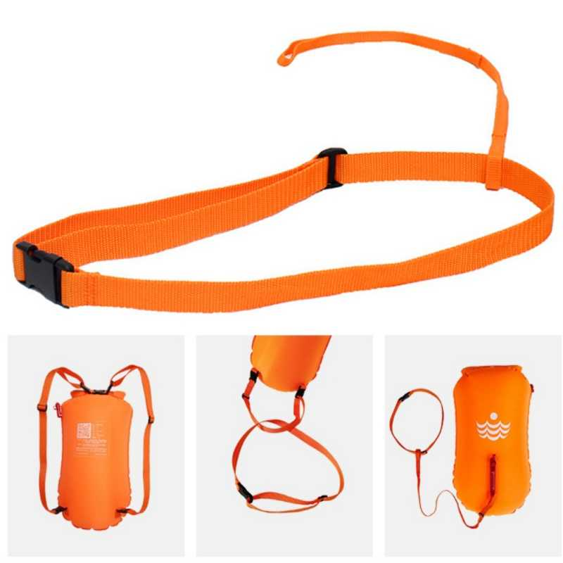 New Swimming Inflatable Belt Special Strength Training Elastic Rope Suit Fitness Belt With Bandage Swimming Trainer Replacement