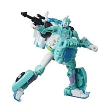 1Pcs Power of the Primes Moonracer Women Car Action Figure Classic Toys For Boys Children without retail box