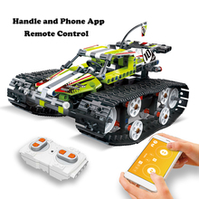 Bricks Building-Blocks Educational-Toys Race-Car-Set Legoingly Rc-Track-Remote-Control