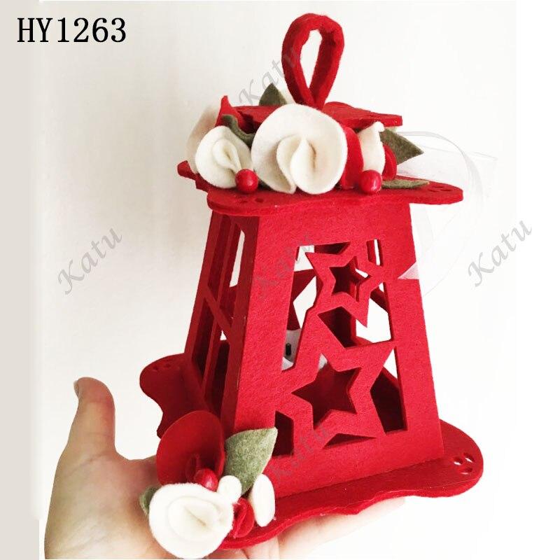 Pacote de lanterna de natal corte dados 2019 novo corte & dados de madeira adequado para máquinas de corte comuns no mercado