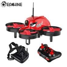 Eachine e013 micro fpv rc zangão quadcopter com 5.8g 1000tvl 40ch câmera vr006 VR-006 3 Polegada óculos de proteção