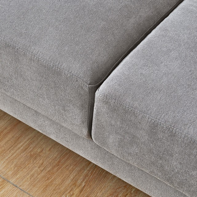 L Shape 3 Seater Couch w/ Ottoman 6