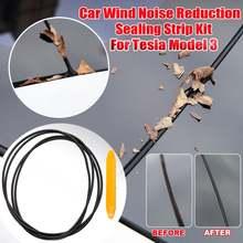 Ветрозащитная лента для лобового стекла tesla model 3 комплект