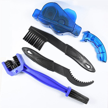 Scrubber Bicycle-Chain-Cleaner Bike-Brushes Wash-Tool Outdoor-Accessory Portable A-Set