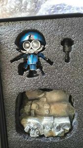 Image 4 - COMIC CLUB weijiang battle damage Q Ver AUTOBOT SQWEEKS metal alloy parts Action Figure robot toy